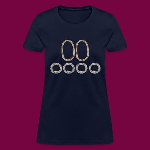2 Chains 4 Bracelets - Women's T-Shirt