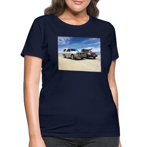 Subaru off roading - Women's T-Shirt