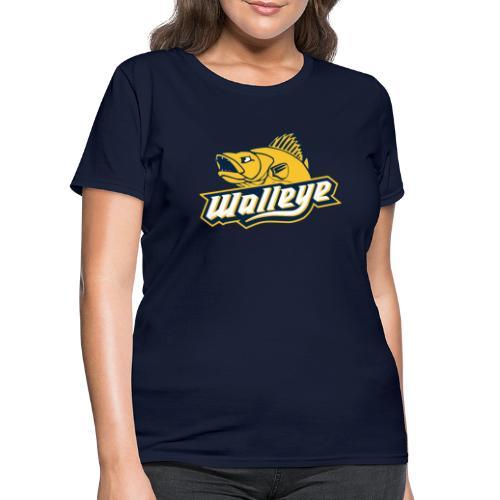 Walleye HC LOGO - Women's T-Shirt