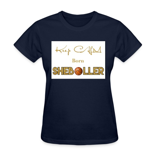 Girl Basketball shirt - Women's T-Shirt