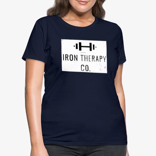 irontherapylogo1 - Women's T-Shirt