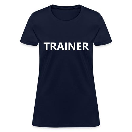 Trainer - Women's T-Shirt