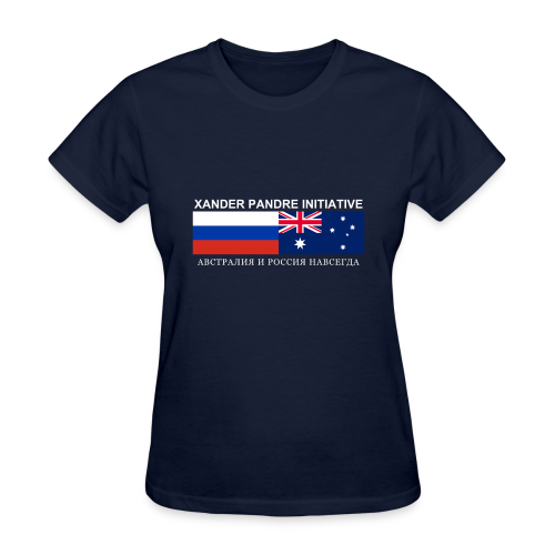 Xander Pandre Initiative АВСТРАЛИЯ И РОССИЯ НАВСЕГ - Women's T-Shirt