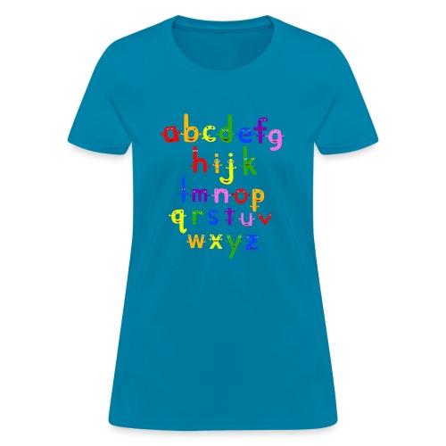 a to z t shirt 1 - Women's T-Shirt