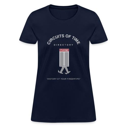 Circuits Of Time - Women's T-Shirt