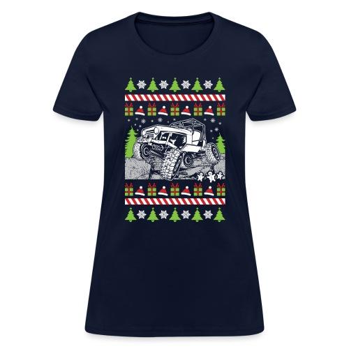 Ugly Christmas Wrangler - Women's T-Shirt
