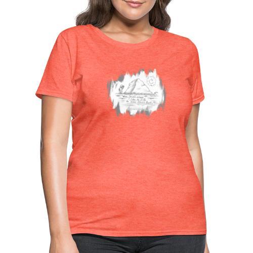 Listen to Classic Rock - Women's T-Shirt