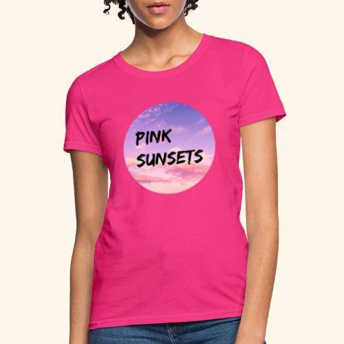 Pink Sunsets - Women's T-Shirt