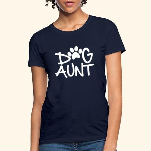 DOG AUNT - Women's T-Shirt