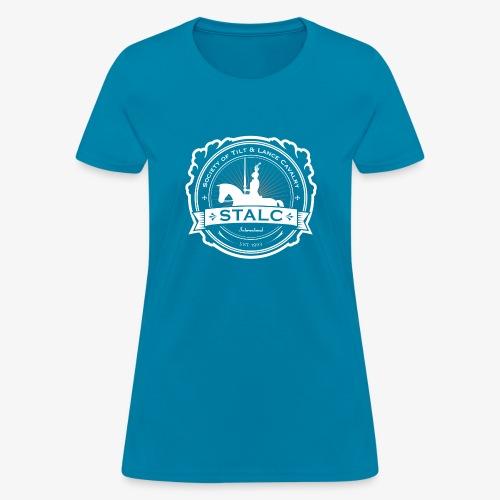 STALC Logo White only - Women's T-Shirt