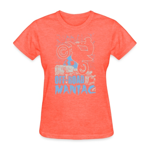 Motocross Off-Road Maniac - Women's T-Shirt