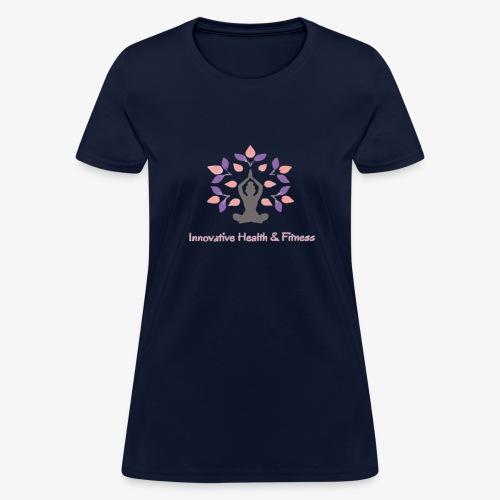 Innovative Health & Fitness Logo - Women's T-Shirt
