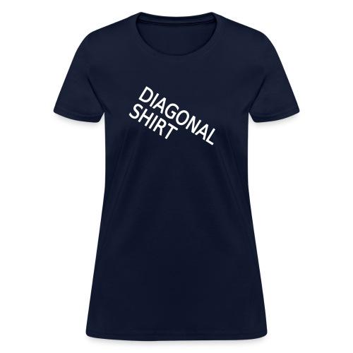 diagonalshirt2 - Women's T-Shirt