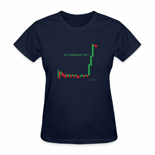 ex-squeeze me? - Women's T-Shirt