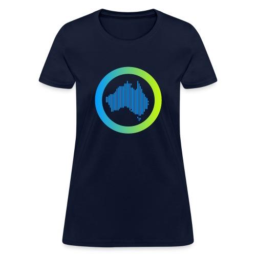 Gradient Symbol Only - Women's T-Shirt