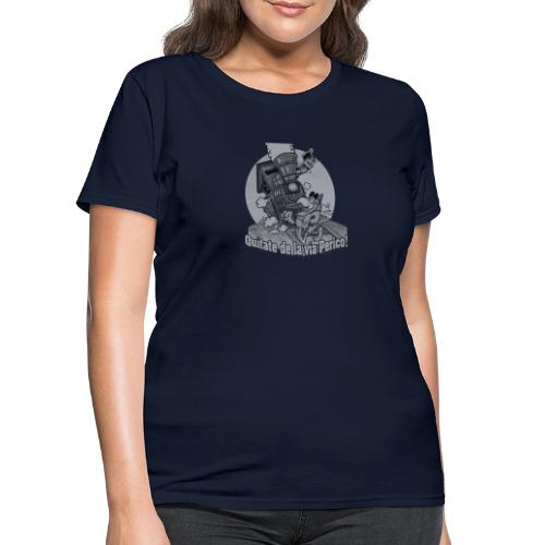 Quitate de la Via Perico B n W transparent - Women's T-Shirt