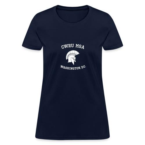 CWRU MSA Program Washington, D.C - Women's T-Shirt