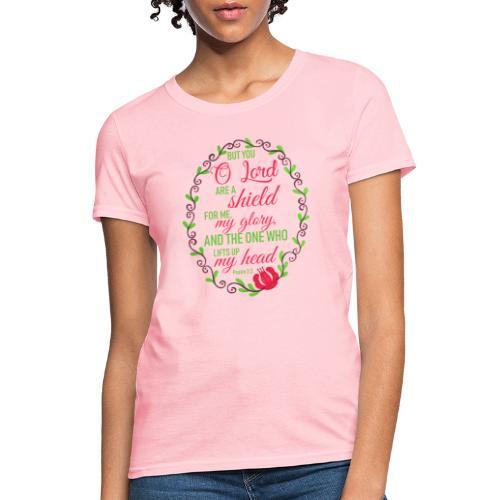 Psalm 3:3 - Women's T-Shirt