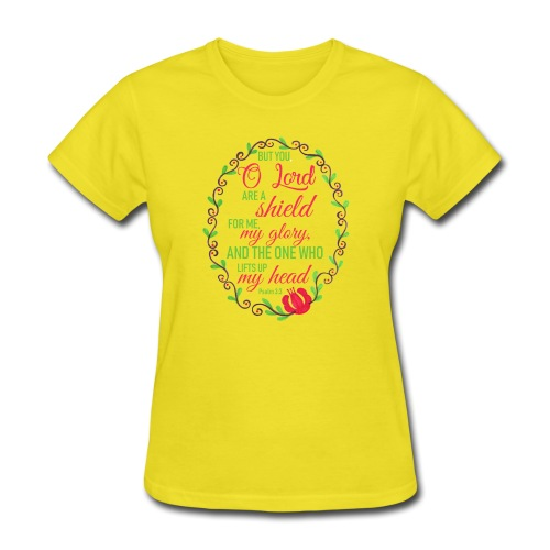 Psalm 3:3 - Women's T-Shirt