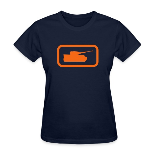 Tank Logo - Multi-Color - Axis & Allies - Women's T-Shirt