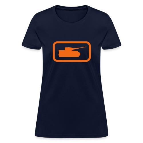 Tank Logo - Multi-Color - Axis & Allies - Women's T-Shirt