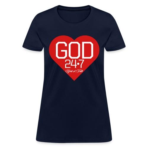 God247 - Women's T-Shirt