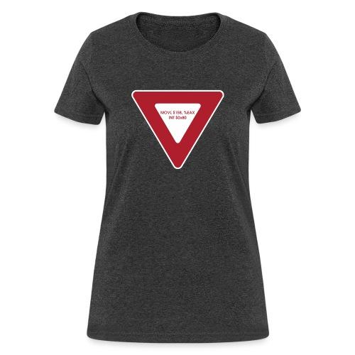 yield shirt white - Women's T-Shirt