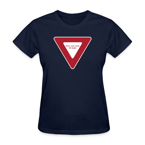 yield shirt white - Women's T-Shirt