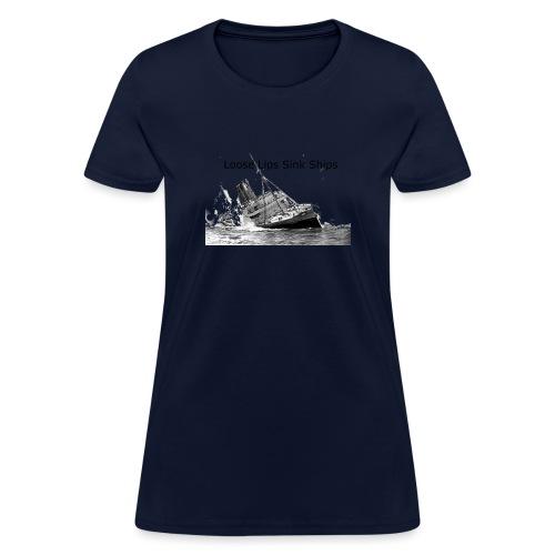Enron Scandal Joke - Women's T-Shirt