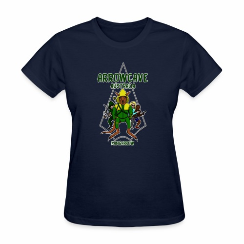 Arrow Cave Logo - Dark - Women's T-Shirt