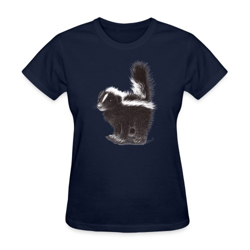 Cool cute funny Skunk - Women's T-Shirt