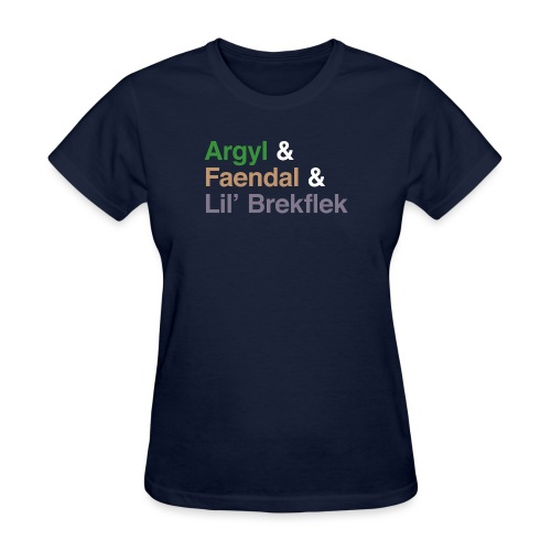 argyl and friends - Women's T-Shirt