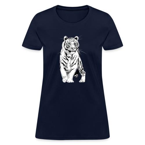 Stately White Tiger - Women's T-Shirt