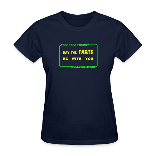 may the farts2 png - Women's T-Shirt