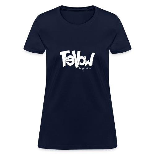 Design 02 Sur du noir - Women's T-Shirt