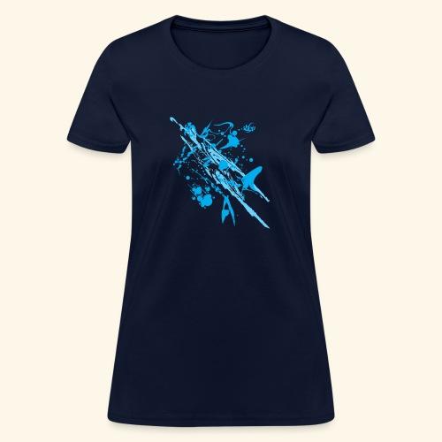 Blue Splash - Women's T-Shirt