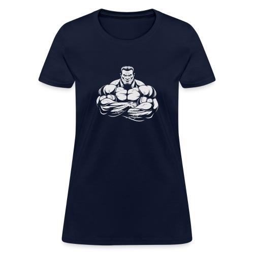 An Angry Bodybuilding Coach - Women's T-Shirt
