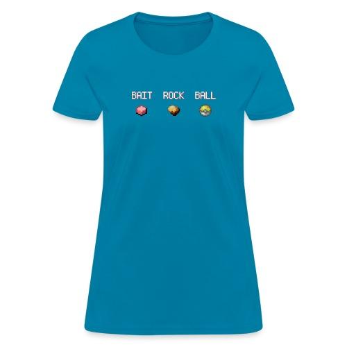 baitrockball2 - Women's T-Shirt