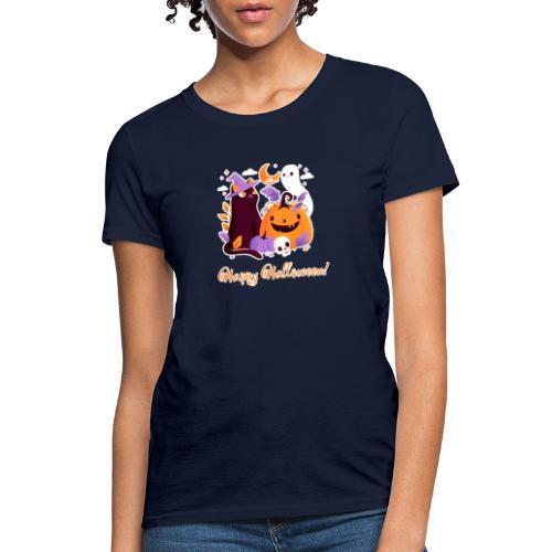 Halloween happy - Women's T-Shirt