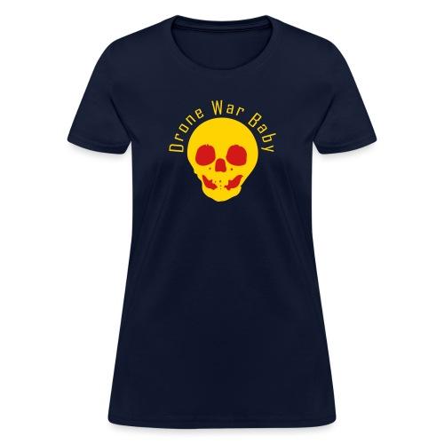 Drone War Baby yel - Women's T-Shirt