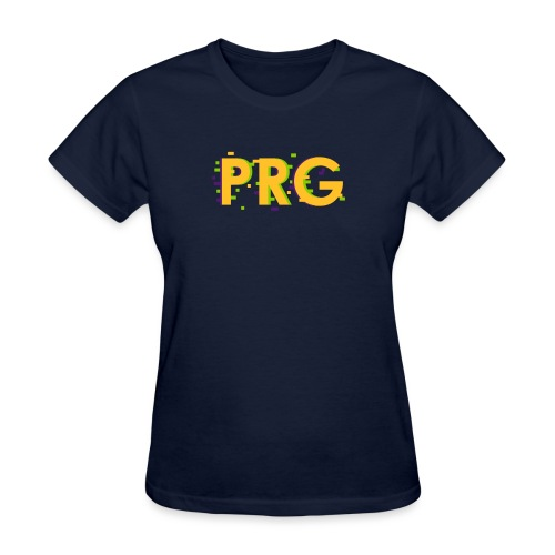 PRG distorted Neon libertarian Design - Women's T-Shirt