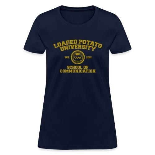 Loaded Potato University - Women's T-Shirt