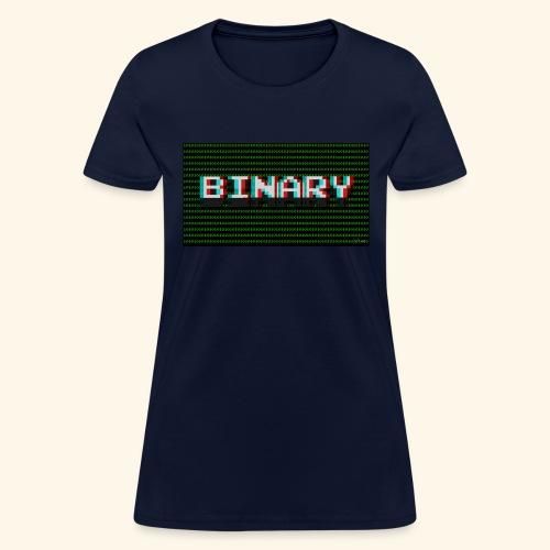 Binary - Women's T-Shirt
