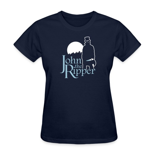 Evil John The Ripper Dark background - Women's T-Shirt