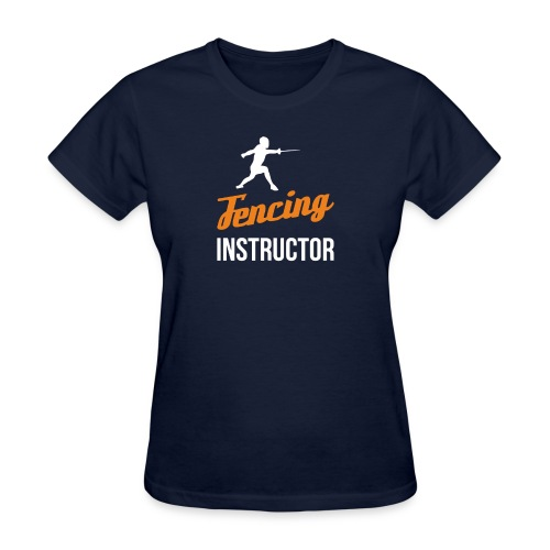 Fencing Instructor - Women's T-Shirt