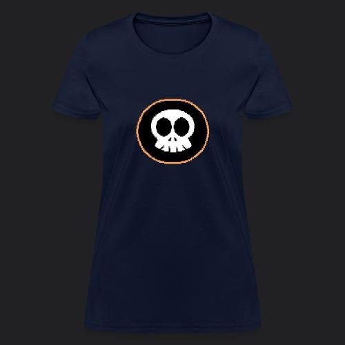 Skully-ANSI-Large - Women's T-Shirt