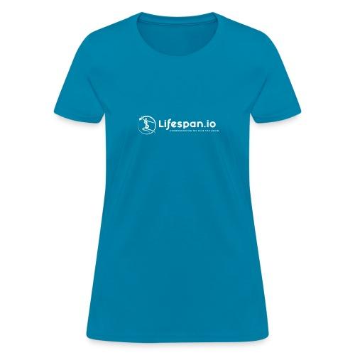 Lifespan.io in white 2021 - Women's T-Shirt