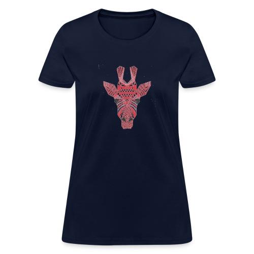 Giraffe Head - Women's T-Shirt