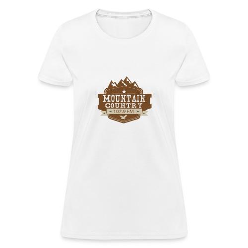 Mountain Country 107.9 - Women's T-Shirt