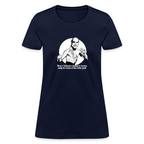 Bruce Schneier Fact #5b - Women's T-Shirt